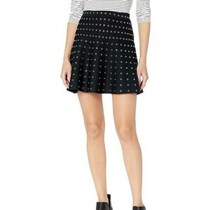 The Kooples Flounce Skirt with Eyelets